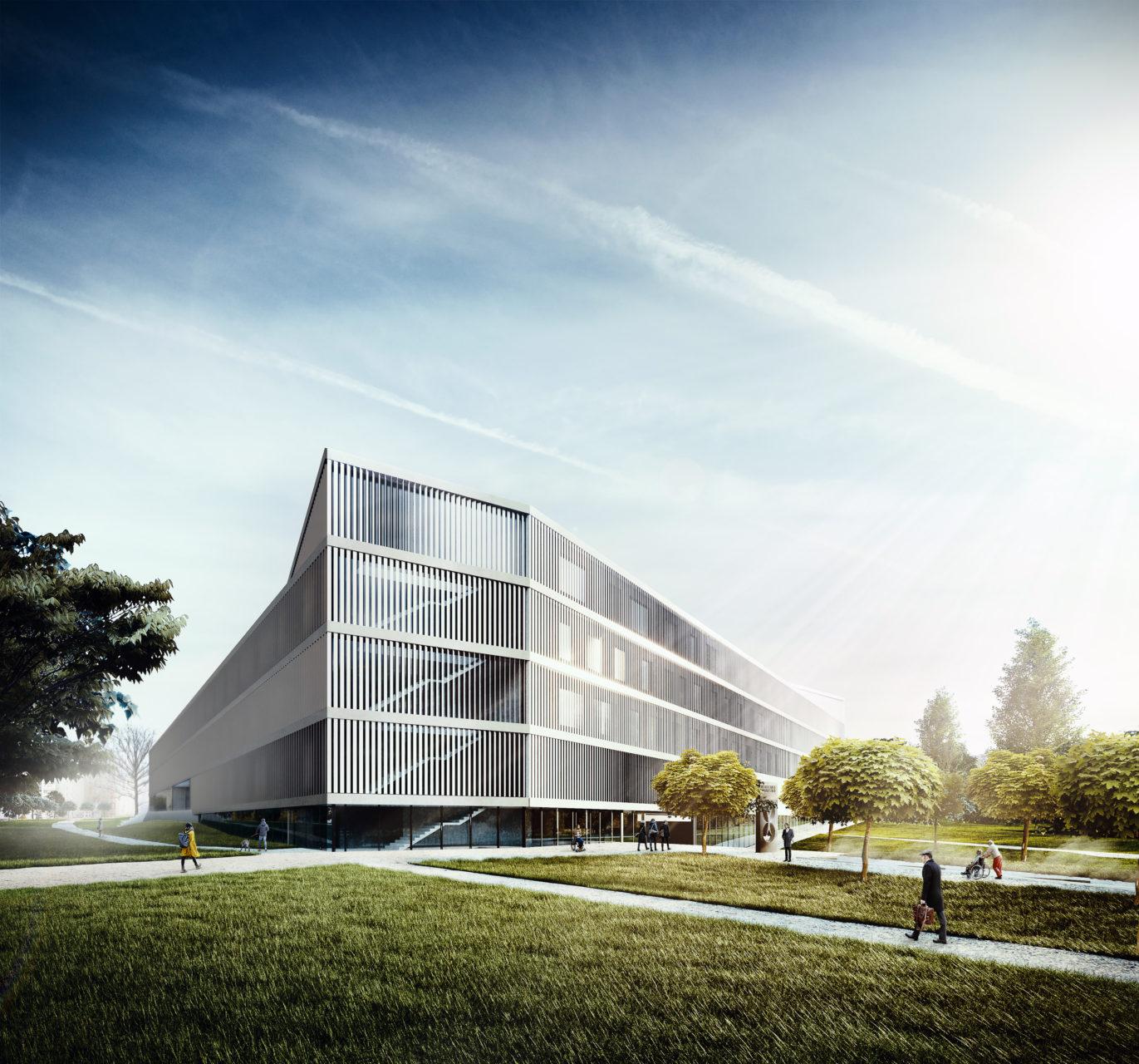 projekt nemocnice Malešice - Kolínský Čermák architekti